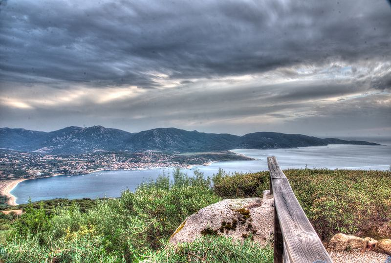 Otra vista idílica de Propriano y el golfo de Valinco. Foto de  tomtommlv.